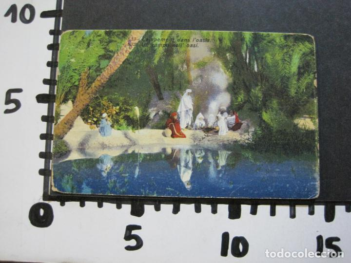 Postales: CAMPAMENTO DENTRO DEL OASIS-POSTAL ANTIGUA-(71.138) - Foto 4 - 206938397