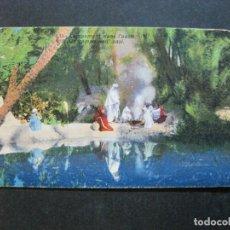 Postales: CAMPAMENTO DENTRO DEL OASIS-POSTAL ANTIGUA-(71.138). Lote 206938397