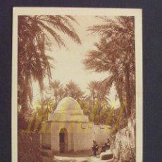 Postales: POSTAL EDICIONES LEHNERT & LANDROCK Nº 165 - UN MARABOUT EN EL OASIS. Lote 207933025