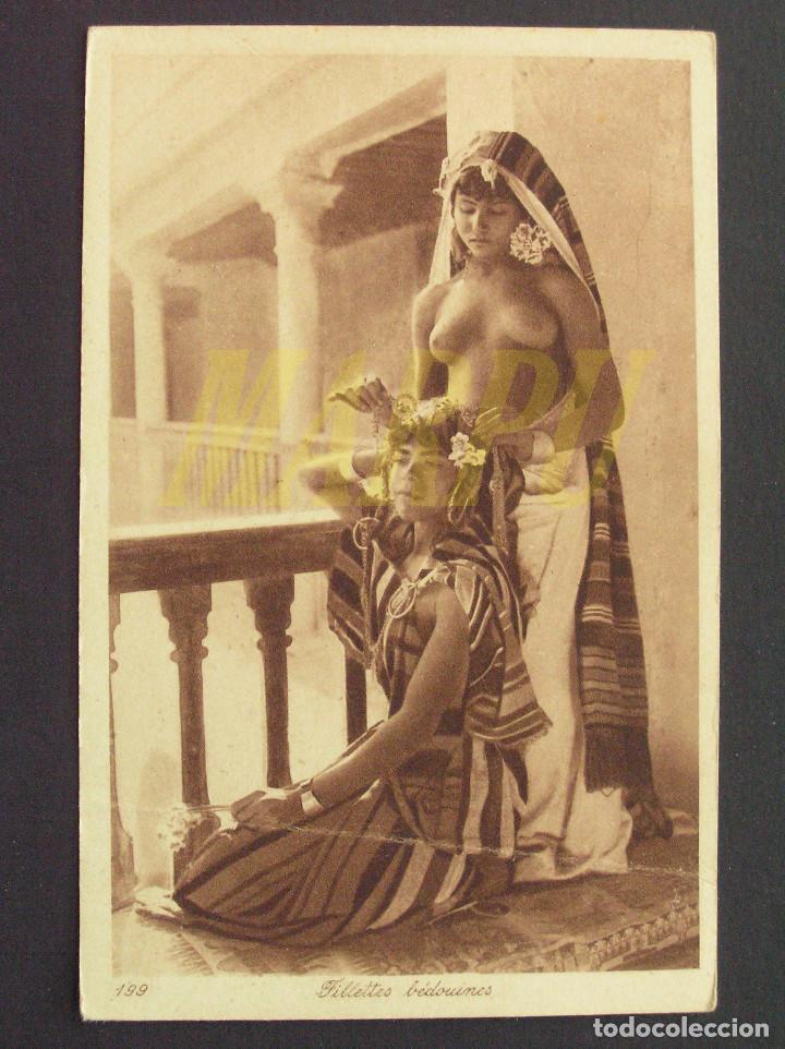 POSTAL EDICIONES LEHNERT & LANDROCK Nº 199 - NIÑAS BEDUINAS (Postales - Postales Temáticas - Étnicas)