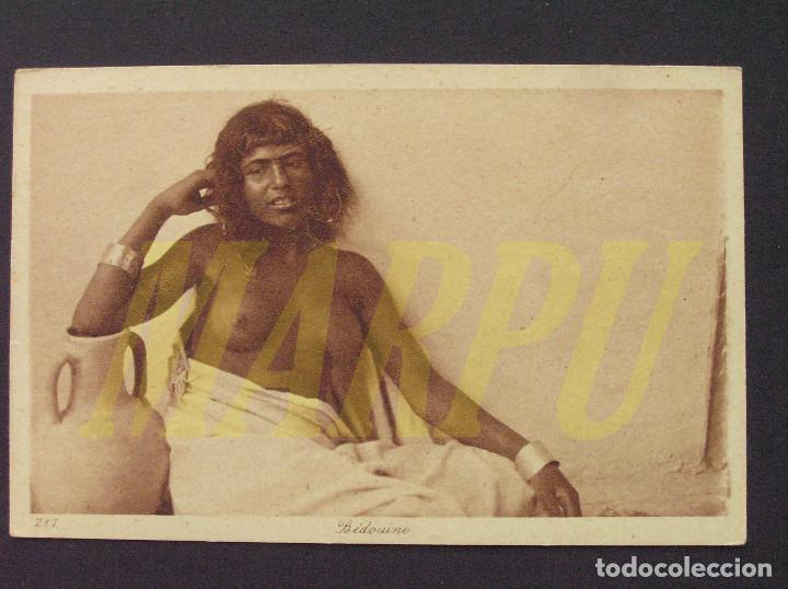 POSTAL EDICIONES LEHNERT & LANDROCK Nº 217 - BEDUINA (Postales - Postales Temáticas - Étnicas)