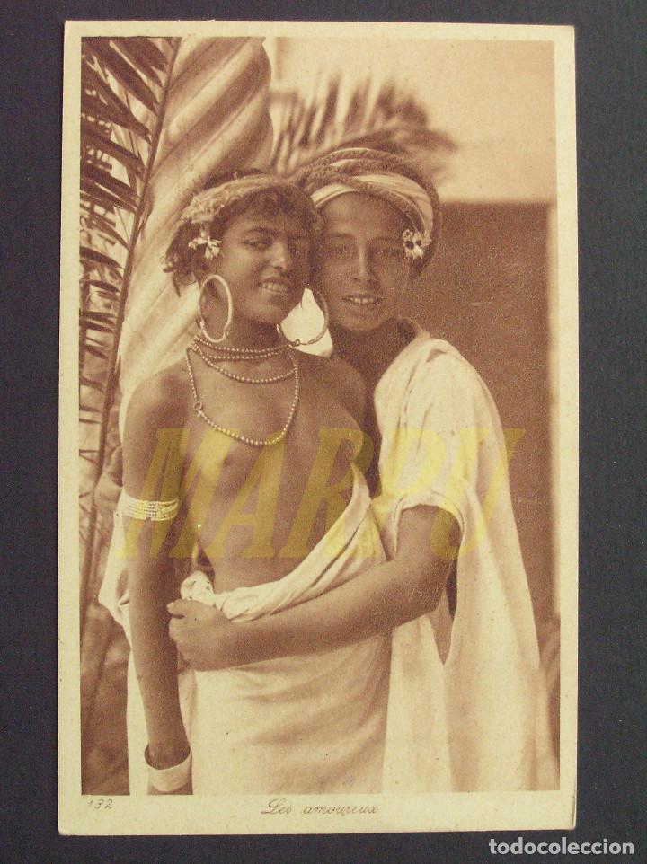 POSTAL EDICIONES LEHNERT & LANDROCK Nº 132 - LOS ENAMORADOS (Postales - Postales Temáticas - Étnicas)