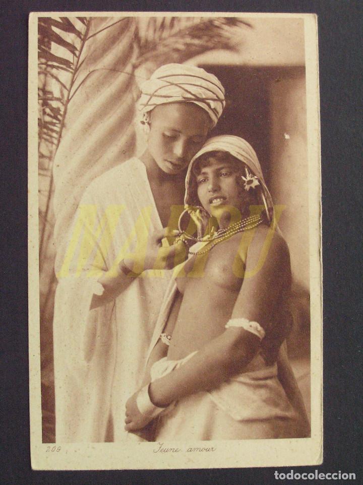 POSTAL EDICIONES LEHNERT & LANDROCK Nº 209 - JOVEN AMOR (Postales - Postales Temáticas - Étnicas)
