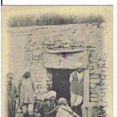 Postales: TUNEZ, BARBIER AMBULANT, PHOTO GARRIGUES, TUNIS, SIN DIVIDIR, CIRCULADA CON SU SELLO. Lote 209774805