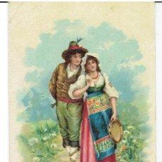 Postales: ITALIA, COSTUMI ROMANI, , SIN DIVIDIR, CIRCULADA CON SU SELLO. Lote 209775885