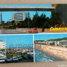 Postales: POSTAL DE COMARRUGA AÑOS 60. Lote 209855782