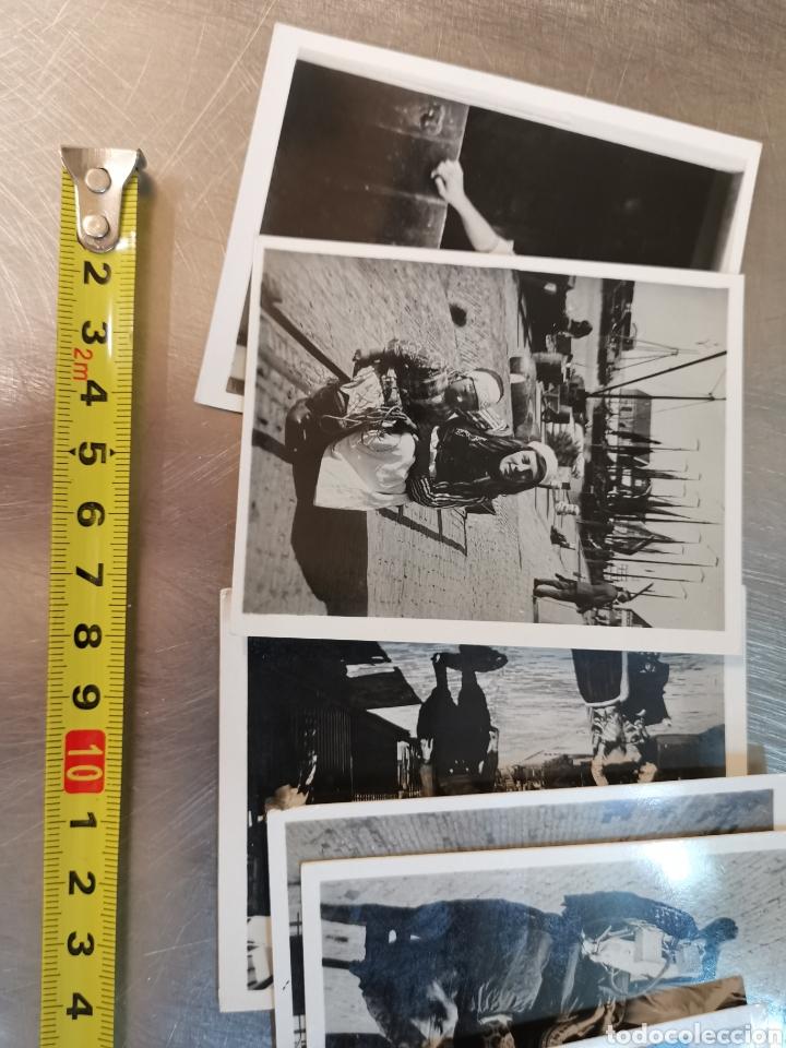 9 MINI FOTOGRAFÍAS COSTUMBRISTAS DE HOLANDA, HOLLAND. PAÍSES BAJOS (Postales - Postales Temáticas - Étnicas)