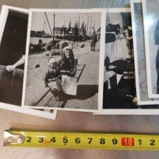 Postales: 9 MINI FOTOGRAFÍAS COSTUMBRISTAS DE HOLANDA, HOLLAND. PAÍSES BAJOS. Lote 210255512