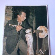 Postales: ASTURIAS TORNERO DEL VALLEDOR ALLANDE FOTÓGRAFO MARA HERRERO OVIEDO. Lote 210401380