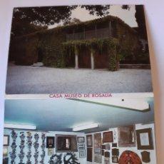 Postales: PADRON CORUÑA CASA MUSEO ROSALIA CASTRO BLOG. Lote 210434608