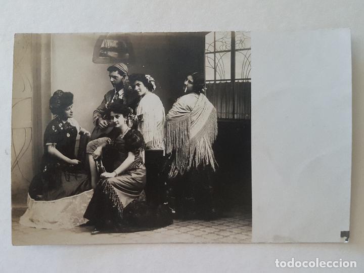 TIPOS ESPAÑOLES (Postales - Postales Temáticas - Étnicas)