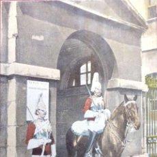 Postales: LONDRES. HORSE GUARD. NUEVA. COLOR. Lote 213854205