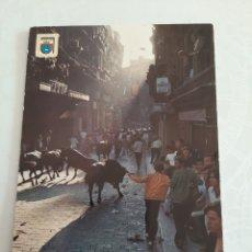 Postales: 1969 PAMPLONA SAN FERMIN ENCIERRO DOMÍNGUEZ EDICIONES 93. Lote 213904055