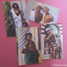 Postales: CUATRO POSTALES FOTOGRAFICAS. MARRUECOS. FOTOGRAFO LEHNERT & LANDROCK. SIN CIRCULAR. Lote 216892886