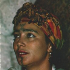 Postales: LOTE V-POSTAL TIPICA ETNICA AFRICAMUJER AÑOS 60. Lote 216981345