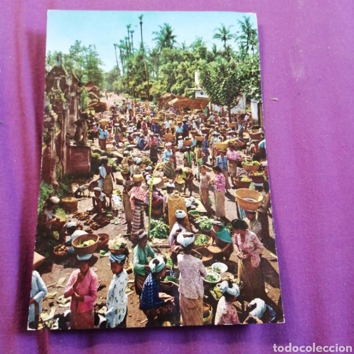 BALI MERCADO (Postales - Postales Temáticas - Étnicas)