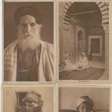 Postales: LOTE 8 TARJETAS POSTALES. PERSONAJES ÁRABES. AÑOS 1910.. Lote 218962503