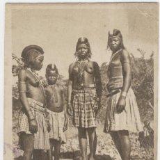 Postales: MULHERES DO HUMBRE. ANGOLA. AÑOS 1910.. Lote 218963126