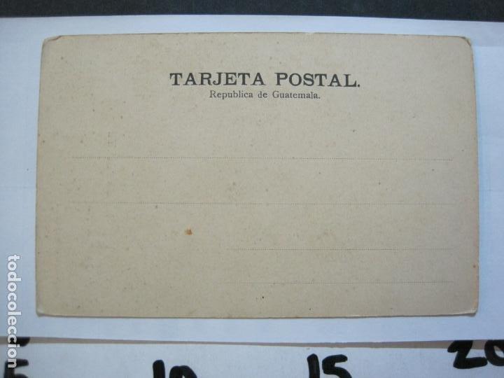 Postales: INDIO DE ATITLAN-FOTO A.VALDEVELLANO-REVERSO SIN DIVIDIR-POSTAL ANTIGUA-(74.353) - Foto 3 - 220297895