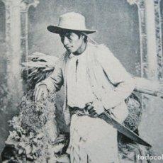 Postales: INDIO DE ATITLAN-FOTO A.VALDEVELLANO-REVERSO SIN DIVIDIR-POSTAL ANTIGUA-(74.353). Lote 220297895