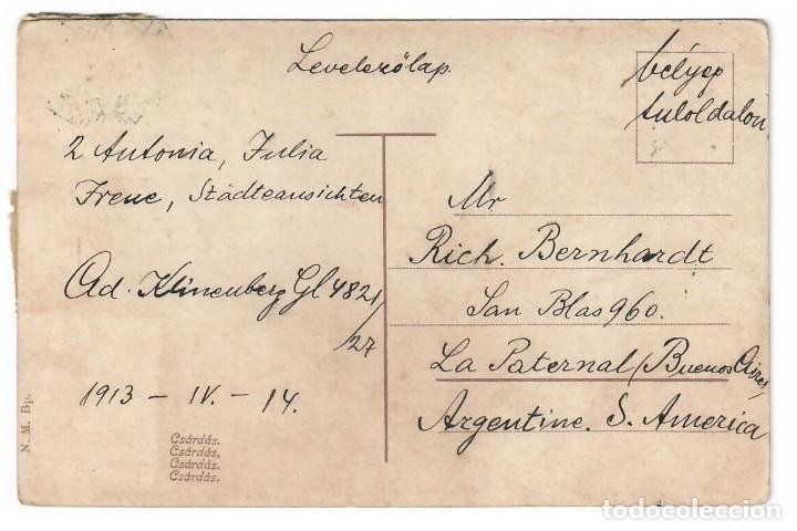 Postales: POSTAL ANTIGUA DE HUNGRIA - Foto 2 - 221430057