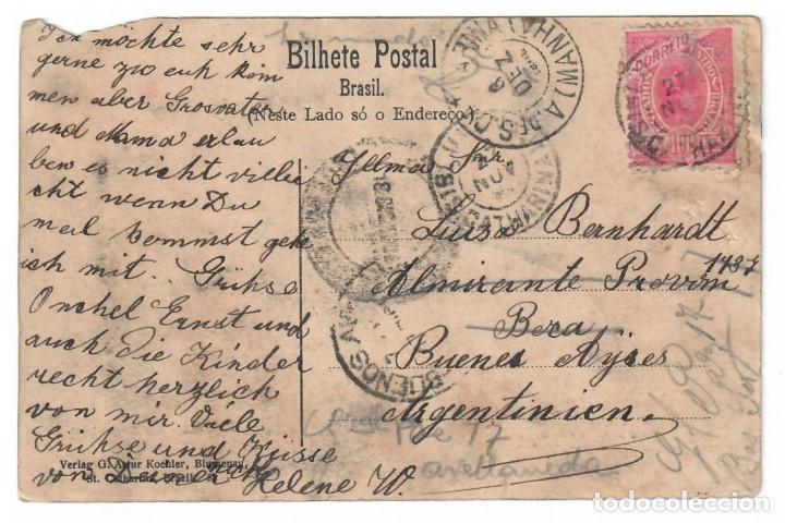 Postales: POSTAL ANTIGUA DE BLUMENAU (BRASIL) - Foto 2 - 221835936