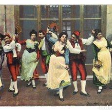 Postales: SORRENTO - LA TARANTELLA (1914). Lote 221839413