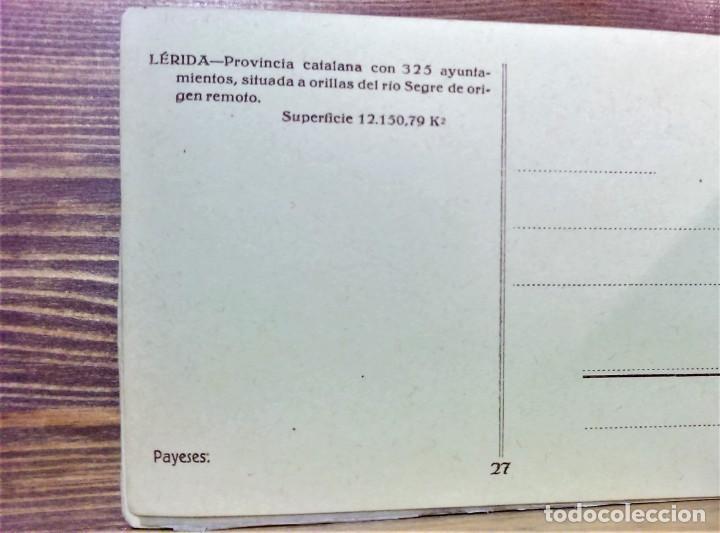 Postales: TRAJES REGIONALES DE ESPAÑA.ANTIGUO ÁLBUM COMPLETO.25 POSTALES ARTÍSTICAS.M.PALOMEQUE - Foto 6 - 222147725