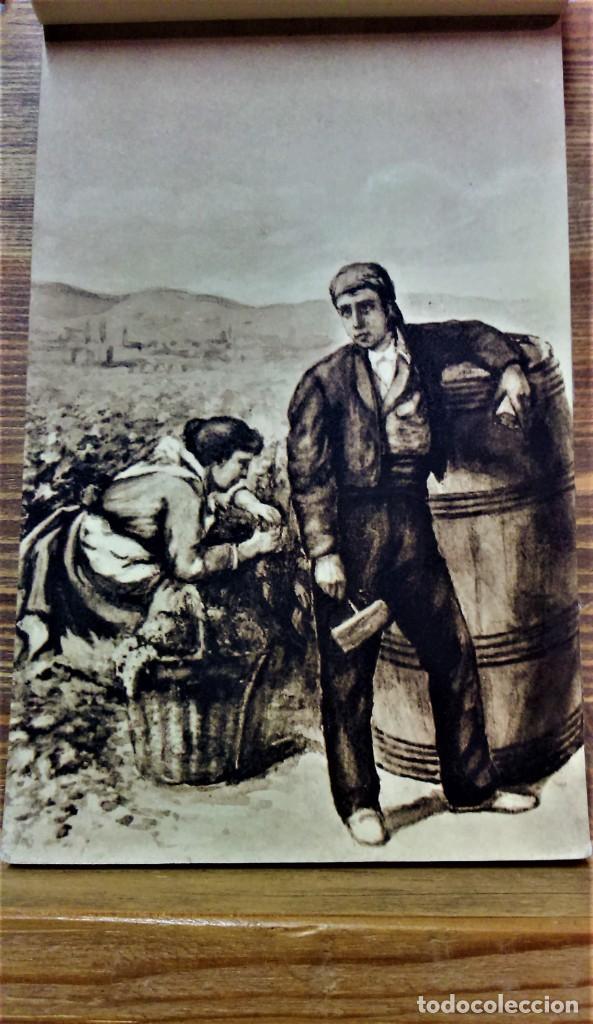 Postales: TRAJES REGIONALES DE ESPAÑA.ANTIGUO ÁLBUM COMPLETO.25 POSTALES ARTÍSTICAS.M.PALOMEQUE - Foto 7 - 222147725