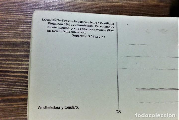 Postales: TRAJES REGIONALES DE ESPAÑA.ANTIGUO ÁLBUM COMPLETO.25 POSTALES ARTÍSTICAS.M.PALOMEQUE - Foto 8 - 222147725