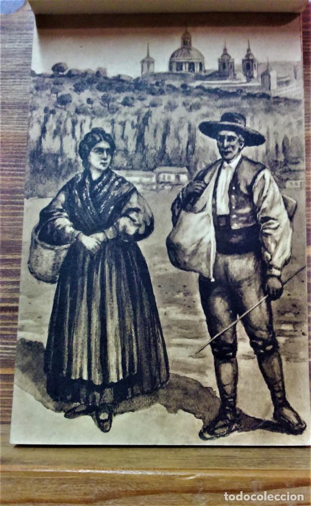 Postales: TRAJES REGIONALES DE ESPAÑA.ANTIGUO ÁLBUM COMPLETO.25 POSTALES ARTÍSTICAS.M.PALOMEQUE - Foto 9 - 222147725