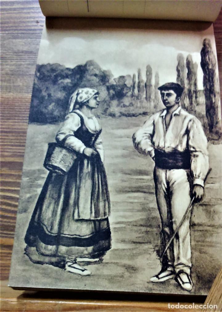 Postales: TRAJES REGIONALES DE ESPAÑA.ANTIGUO ÁLBUM COMPLETO.25 POSTALES ARTÍSTICAS.M.PALOMEQUE - Foto 11 - 222147725