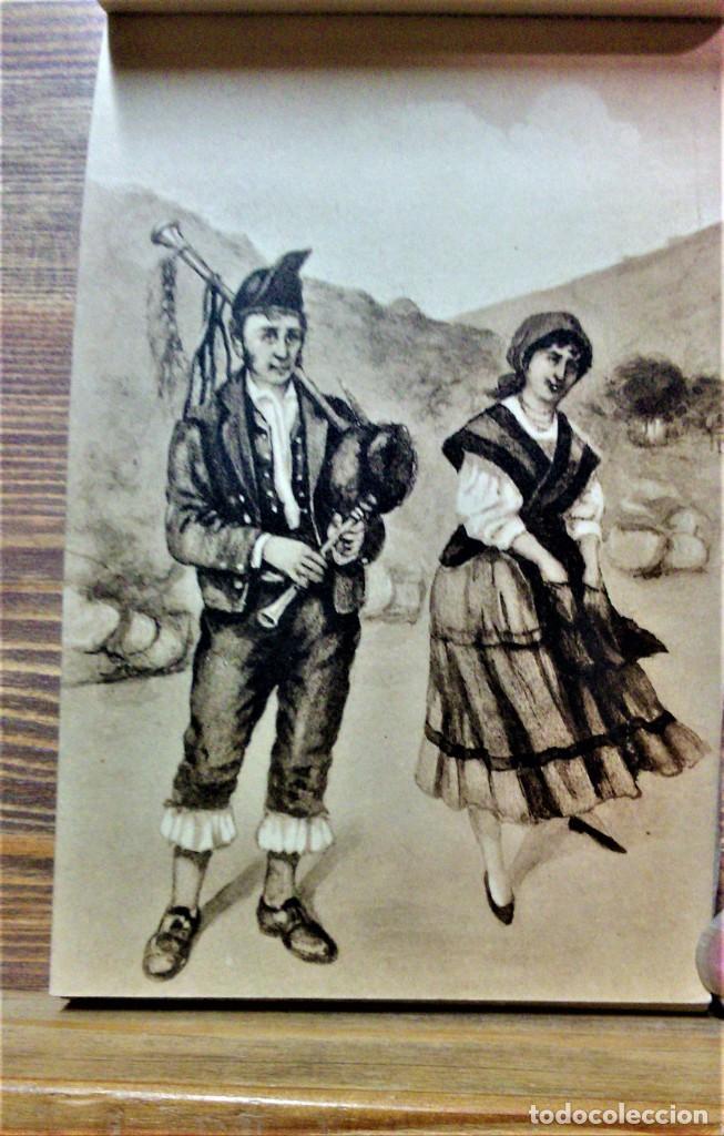 Postales: TRAJES REGIONALES DE ESPAÑA.ANTIGUO ÁLBUM COMPLETO.25 POSTALES ARTÍSTICAS.M.PALOMEQUE - Foto 13 - 222147725