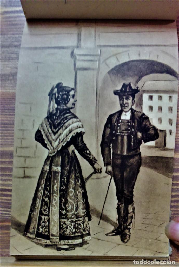 Postales: TRAJES REGIONALES DE ESPAÑA.ANTIGUO ÁLBUM COMPLETO.25 POSTALES ARTÍSTICAS.M.PALOMEQUE - Foto 15 - 222147725