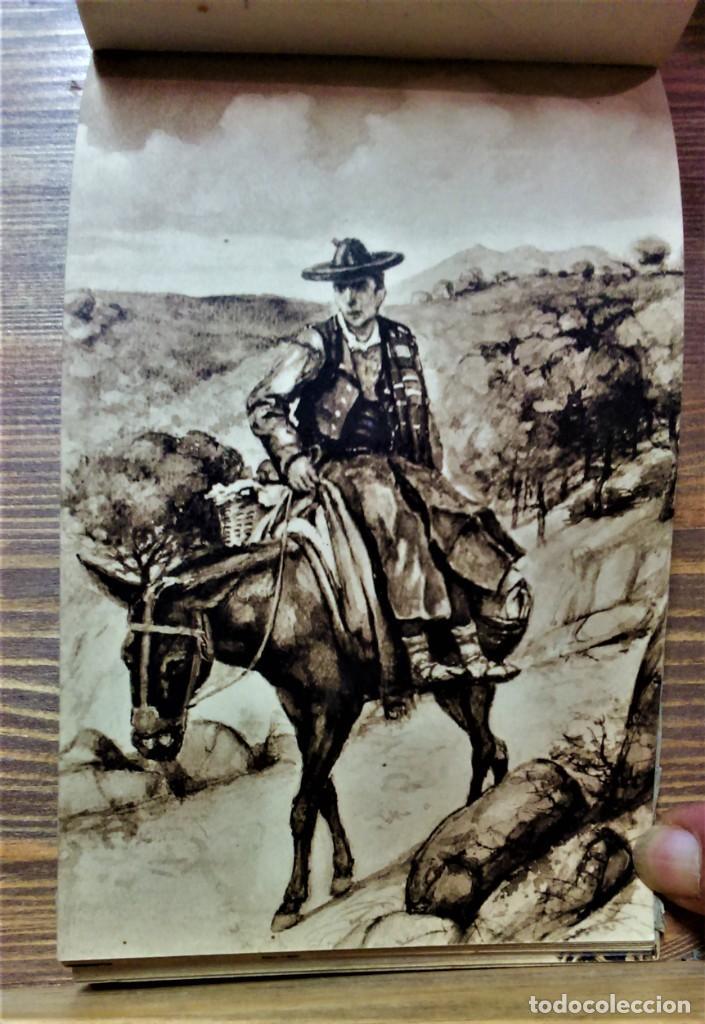 Postales: TRAJES REGIONALES DE ESPAÑA.ANTIGUO ÁLBUM COMPLETO.25 POSTALES ARTÍSTICAS.M.PALOMEQUE - Foto 18 - 222147725