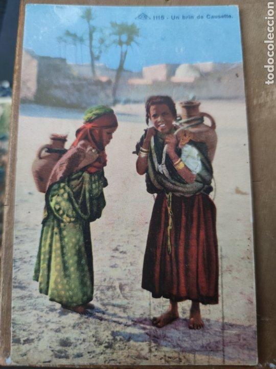 POSTALES NIÑAS EN ARGELIA FRANCESA (Postales - Postales Temáticas - Étnicas)