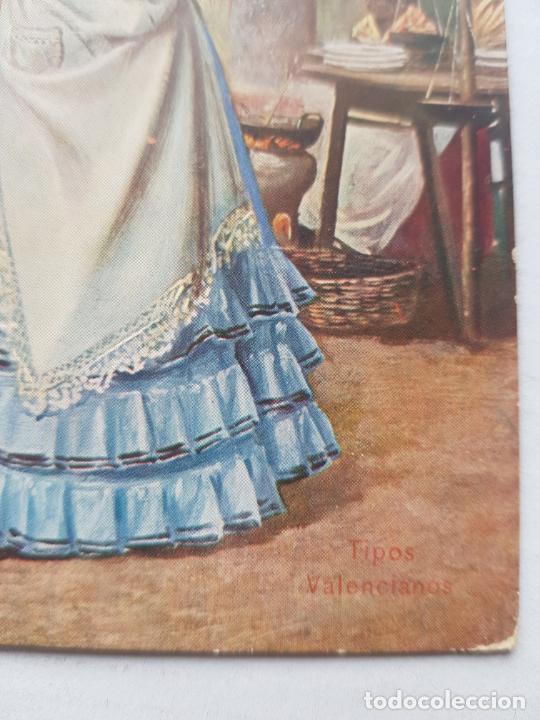 Postales: TIPOS VALENCIANOS CIRCULADA Y FECHADA 1908 BUEN ESTADO - Foto 2 - 225169987