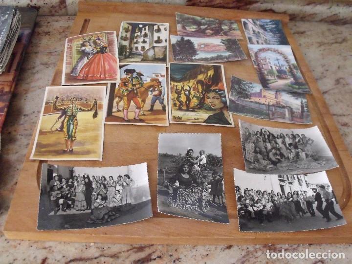 LOTE DE 14 POSTALES COSTUMBRISTAS AÑOS 50 SIN UTILIZAR (Postales - Postales Temáticas - Étnicas)