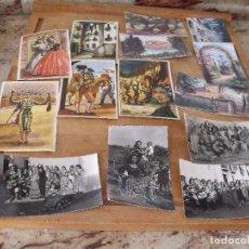 Postales: LOTE DE 14 POSTALES COSTUMBRISTAS AÑOS 50 SIN UTILIZAR. Lote 234509460