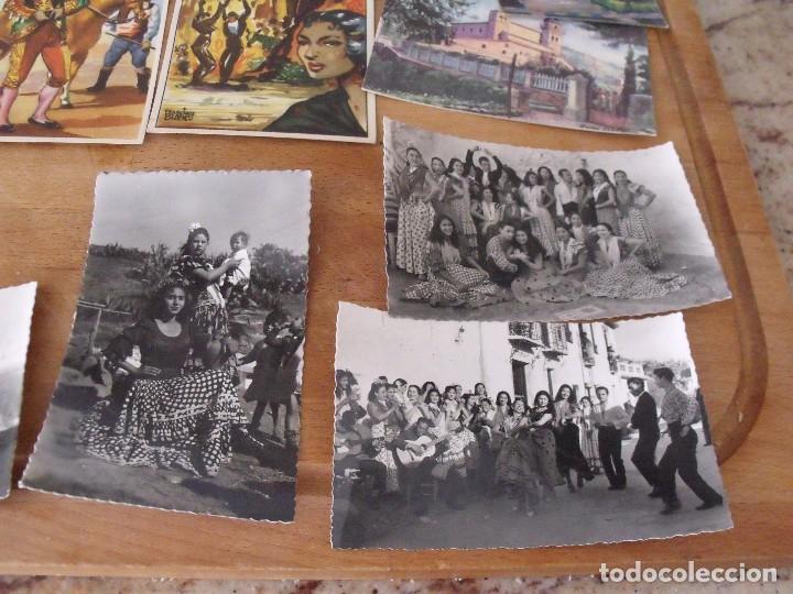 Postales: LOTE DE 14 POSTALES COSTUMBRISTAS AÑOS 50 sin utilizar - Foto 2 - 234509460