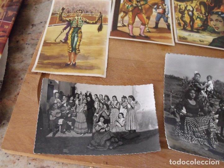 Postales: LOTE DE 14 POSTALES COSTUMBRISTAS AÑOS 50 sin utilizar - Foto 3 - 234509460