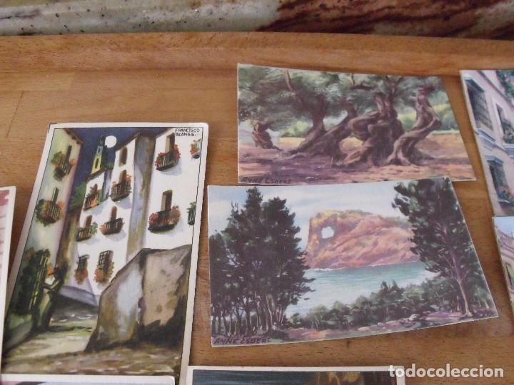 Postales: LOTE DE 14 POSTALES COSTUMBRISTAS AÑOS 50 sin utilizar - Foto 5 - 234509460