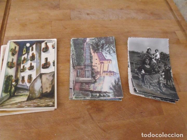 Postales: LOTE DE 14 POSTALES COSTUMBRISTAS AÑOS 50 sin utilizar - Foto 7 - 234509460