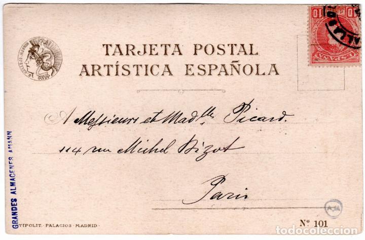 Postales: PRECIOSA COLECCION COMPLETA - 50 POSTALES - MUJERES ESPAÑOLAS - S. CALLEJA - MADRID - - Foto 3 - 236042980