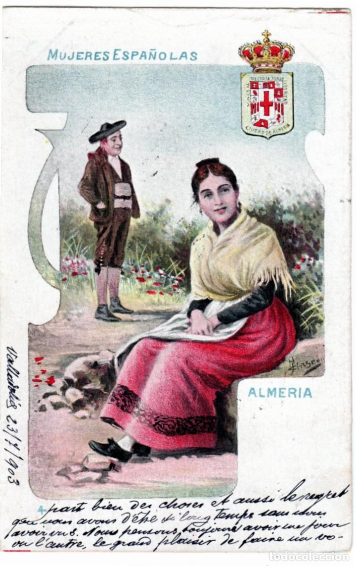 Postales: PRECIOSA COLECCION COMPLETA - 50 POSTALES - MUJERES ESPAÑOLAS - S. CALLEJA - MADRID - - Foto 8 - 236042980