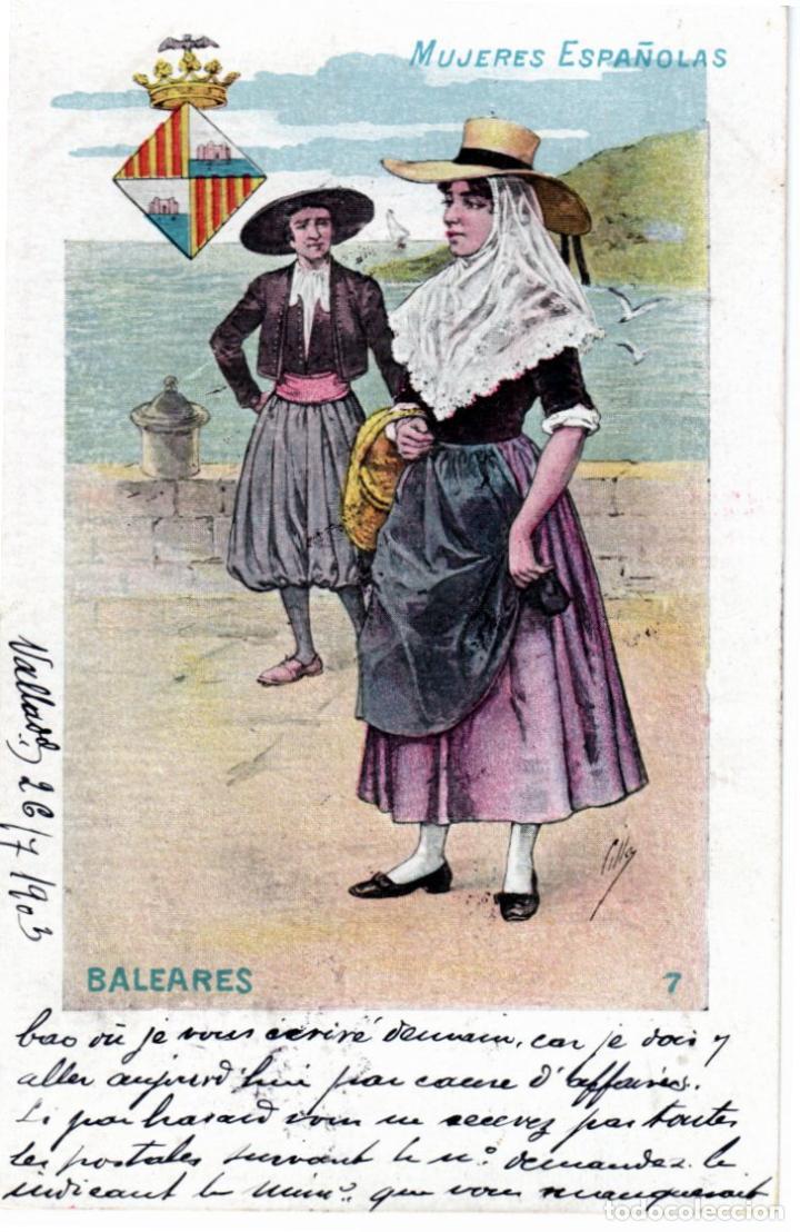 Postales: PRECIOSA COLECCION COMPLETA - 50 POSTALES - MUJERES ESPAÑOLAS - S. CALLEJA - MADRID - - Foto 14 - 236042980