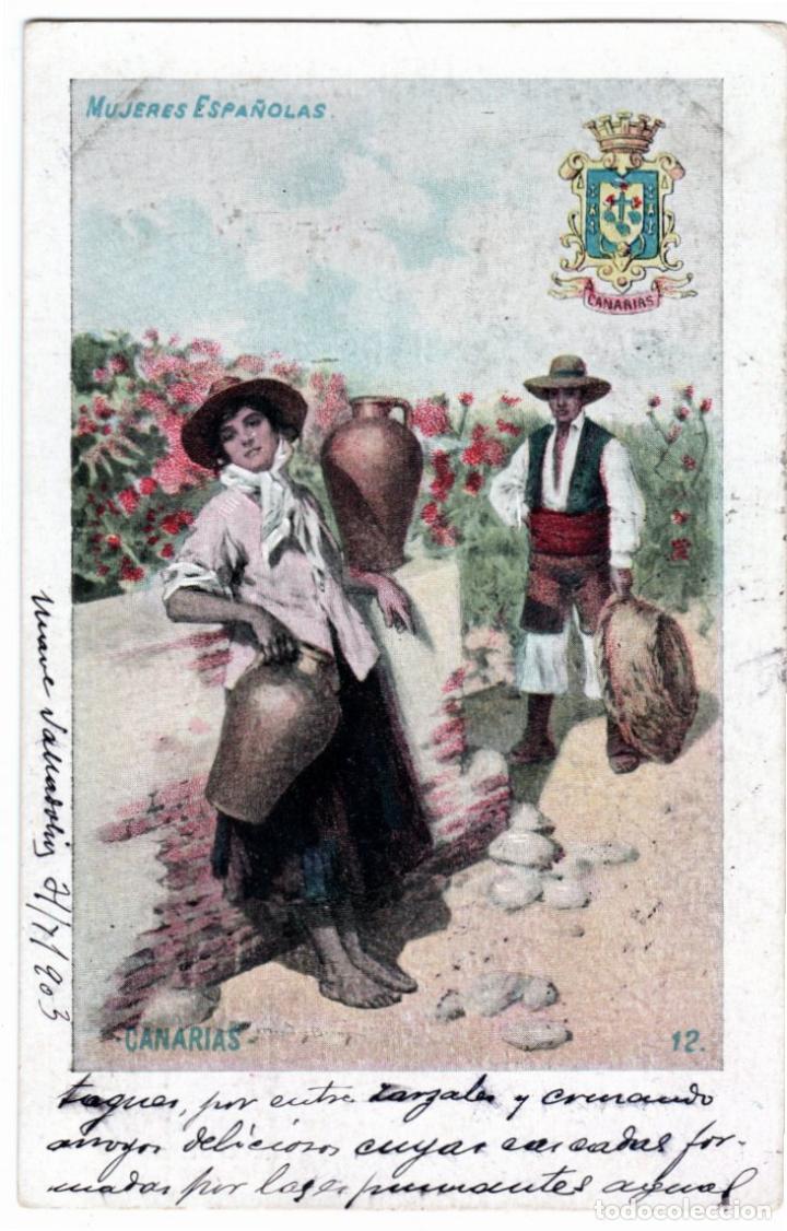 Postales: PRECIOSA COLECCION COMPLETA - 50 POSTALES - MUJERES ESPAÑOLAS - S. CALLEJA - MADRID - - Foto 24 - 236042980