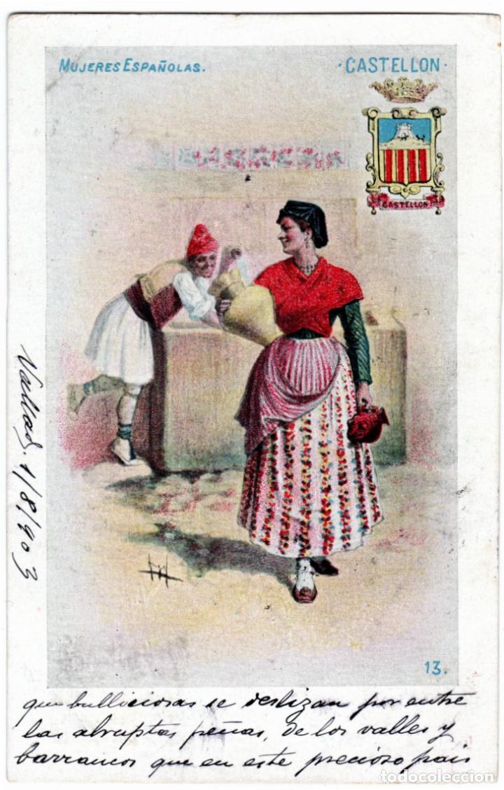 Postales: PRECIOSA COLECCION COMPLETA - 50 POSTALES - MUJERES ESPAÑOLAS - S. CALLEJA - MADRID - - Foto 26 - 236042980