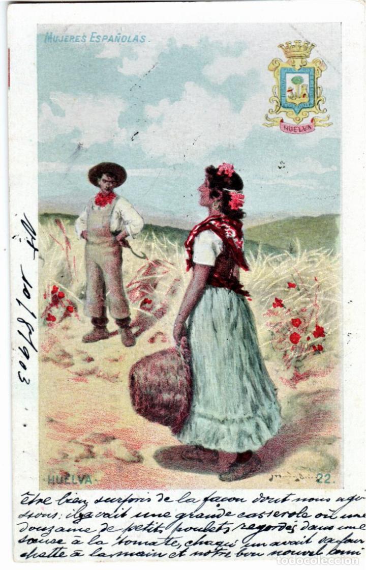 Postales: PRECIOSA COLECCION COMPLETA - 50 POSTALES - MUJERES ESPAÑOLAS - S. CALLEJA - MADRID - - Foto 44 - 236042980