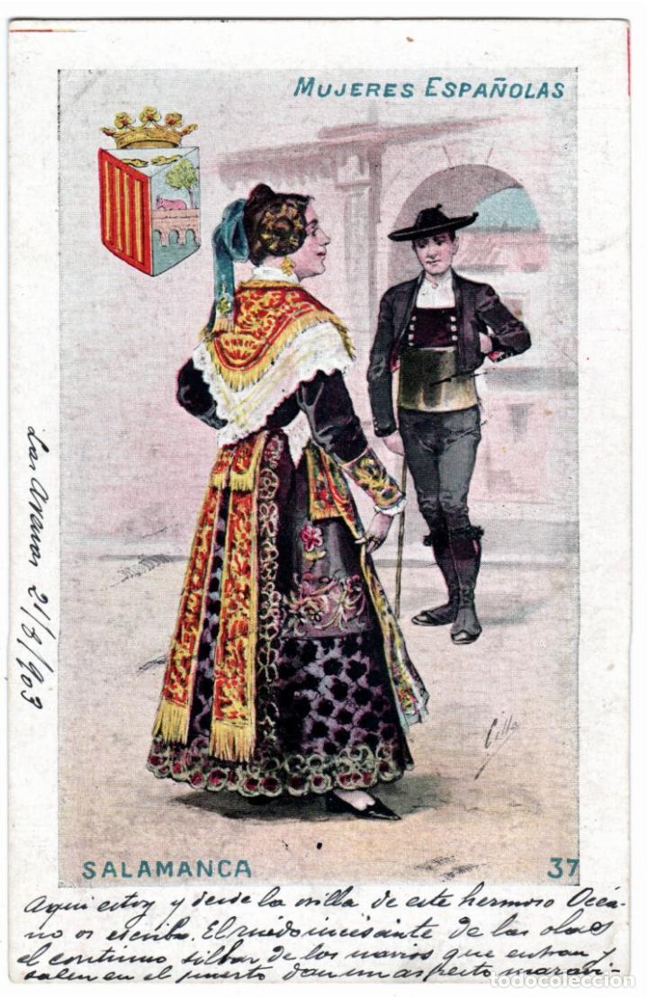 Postales: PRECIOSA COLECCION COMPLETA - 50 POSTALES - MUJERES ESPAÑOLAS - S. CALLEJA - MADRID - - Foto 74 - 236042980